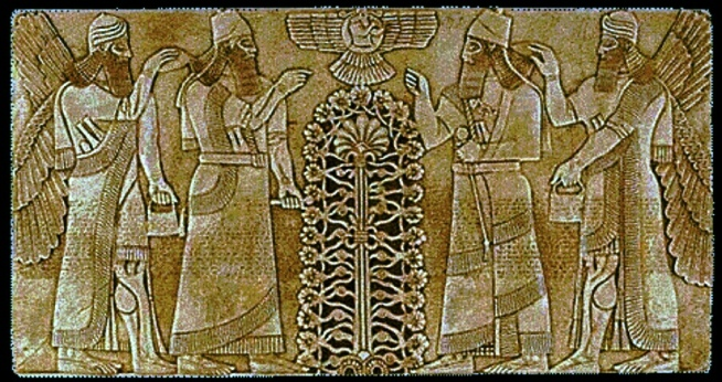 Anunnaki-Sumerians-and-the-Tree